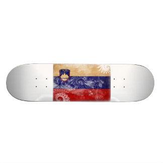 Slovenia Flag Skateboard Deck