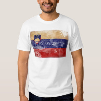 Slovenia Flag Tee Shirt