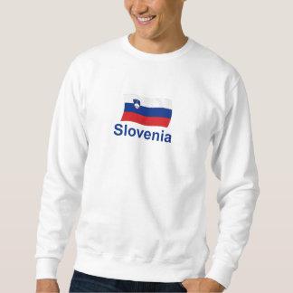 Slovenia Flag - w/inscription Sweatshirt