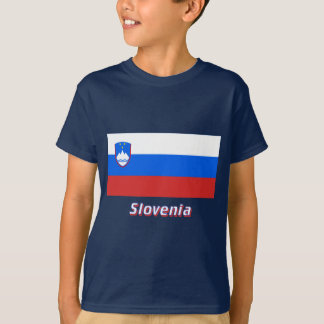 Slovenia Flag with Name T-Shirt