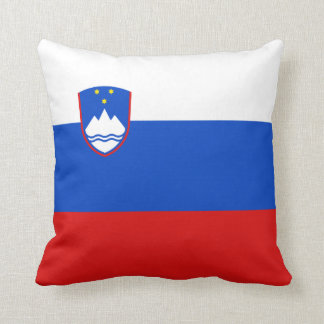 Slovenia Flag x Flag Pillow