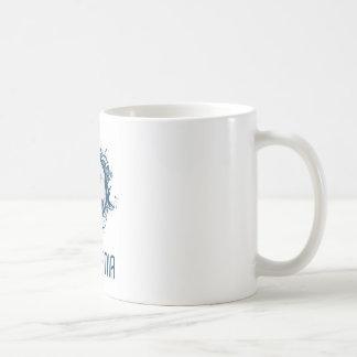 Slovenia Football Basic White Mug