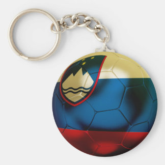 Slovenia Football Key Ring