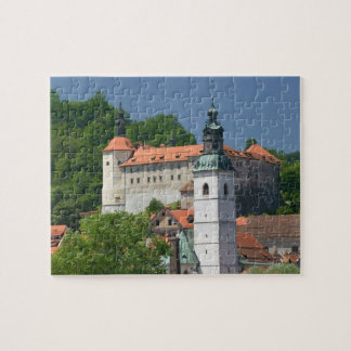 SLOVENIA, GORENJSKA, Skofja Loka: Church of St. Jigsaw Puzzle