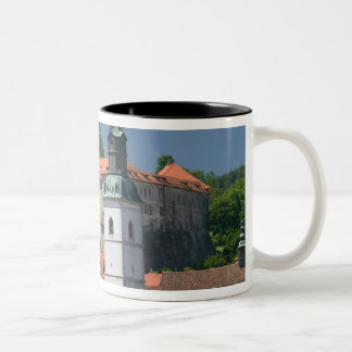 SLOVENIA, GORENJSKA, Skofja Loka: Church of St. Two-Tone Coffee Mug