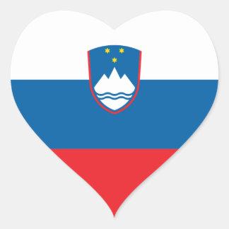 slovenia heart sticker