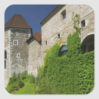 SLOVENIA, Ljubljana: Castle Hill / Ljubljana Sticker