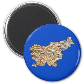 Slovenia Map Magnet