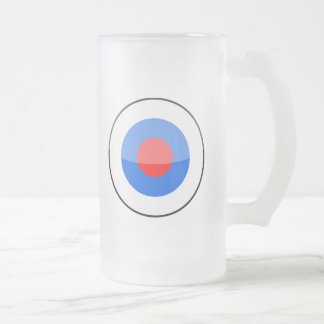 Slovenia 16 Oz Frosted Glass Beer Mug