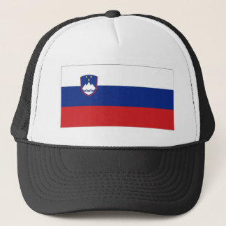 Slovenia National Flag Trucker Hat