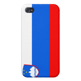 Slovenia National Nation Flag  Case For iPhone 4