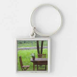 SLOVENIA, PRIMORSKA, Spodnja Idrija: Table on Key Ring