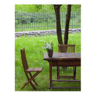 SLOVENIA, PRIMORSKA, Spodnja Idrija: Table on Postcard