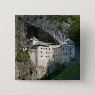 SLOVENIA, RANJSKA, Predjama Castle: 16th 15 Cm Square Badge