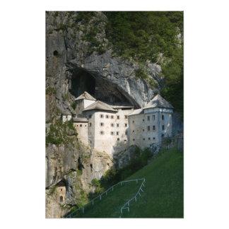 SLOVENIA, RANJSKA, Predjama Castle: 16th Photo Print