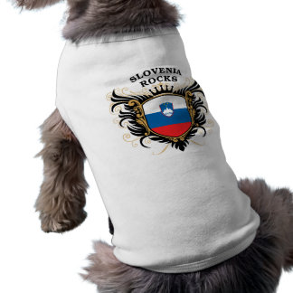 Slovenia Rocks Sleeveless Dog Shirt