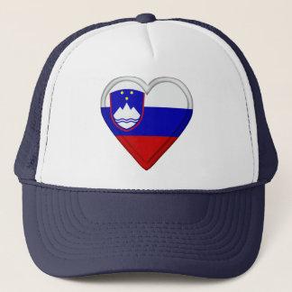 Slovenia Slovenian flag Trucker Hat