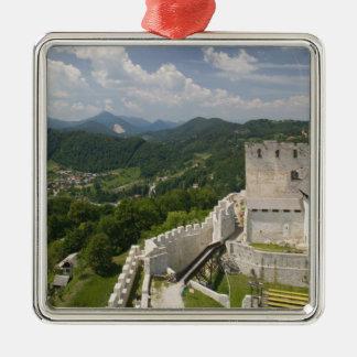 SLOVENIA, STAJERSKA Styria), Celje: Town View Christmas Ornament