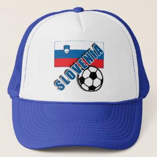 SLOVENIA World Soccer Fan Tshirts Trucker Hat