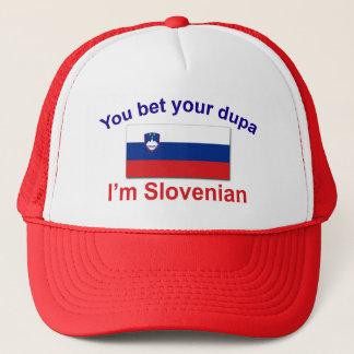 Slovenian Dupa (Flag) Trucker Hat