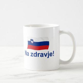 Slovenian Na zdravje! (To your health!) Coffee Mug