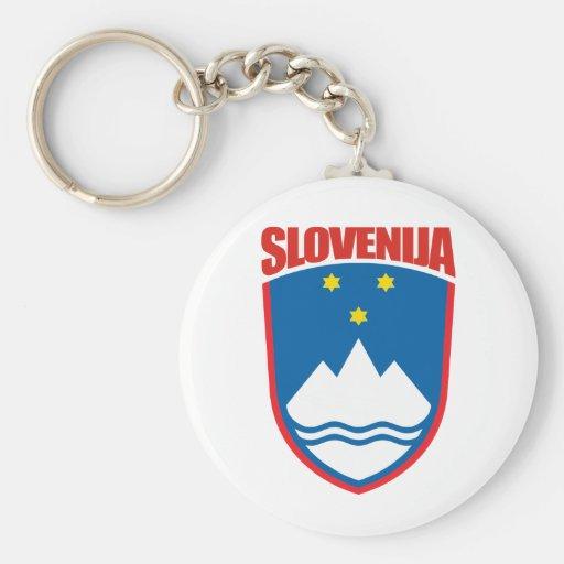 Slovenija (Slovenia) Keychains