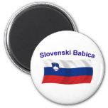 Slovenski Babica (Grandma) Refrigerator Magnets