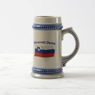 Slovenski Dedek (Grandpa) Beer Stein