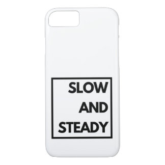 Slow and Steady - Funny iPhone 8/7 Case