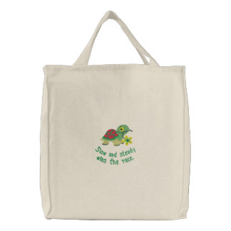 Slow and Steady Turtle Tote Bag