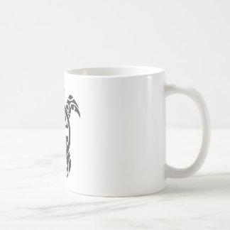 Slow but firm to succes basic white mug
