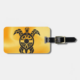 Slow but firm to succes luggage tag