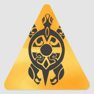 Slow but firm to succes triangle sticker