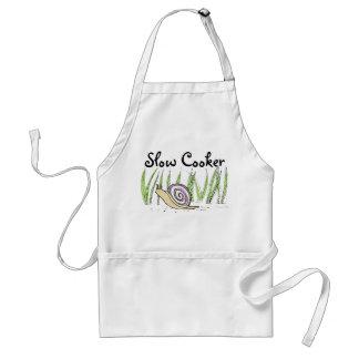 Slow Cooker Snail Apron