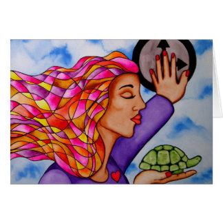 Slow Down by Rita Loyd Card