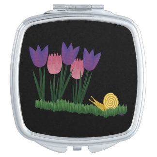 Slow Down Compact Mirror