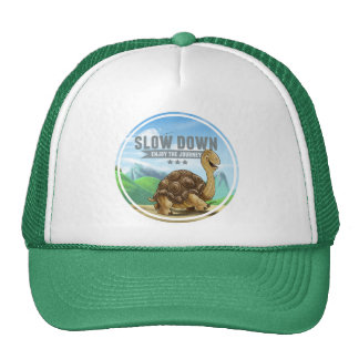 Slow Down Trucker Cap