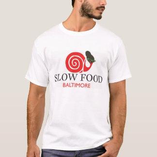 Slow Food Cotton T Shirt