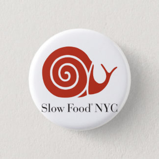 Slow Food NYC logo products 3 Cm Round Badge