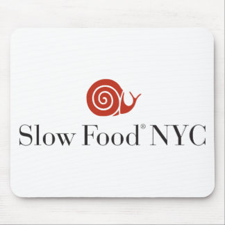 Slow Food NYC logo products Mouse Mat