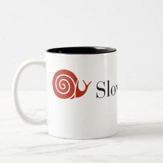 Slow Food NYC two-tone coffee mug