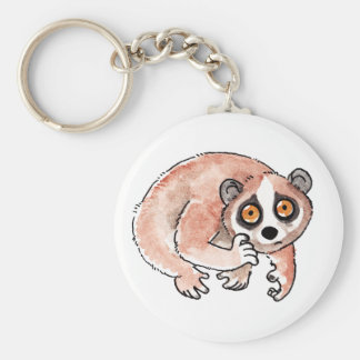 Slow Loris Keychain