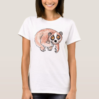 Slow Loris Ladies Fitted T-Shirt