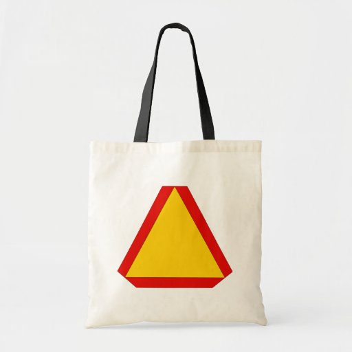 Slow Moving safety sign construction farm business Canvas Bag