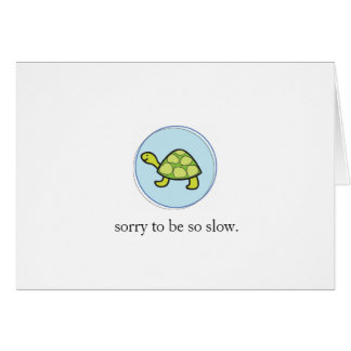 Slow Notecard