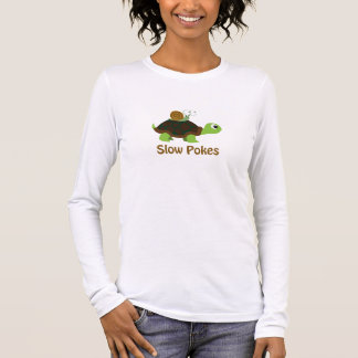 Slow Pokes - Turtle and Snail Long Sleeve T-Shirt