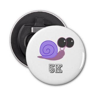 Slow Purple Snail 5K Bottle Opener