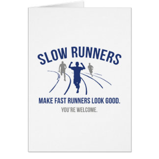 Slow Runners Card