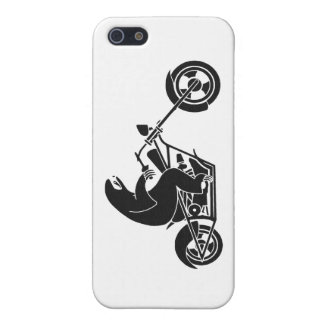 Slow Sloth On A Fast Bike Case For iPhone 5/5S
