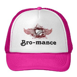 Slow-White logo Bro-mance Trucker Hat
